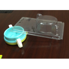 Transparente Kunststoff Blister Clamshell Verpackung Box (PVC-Paket)