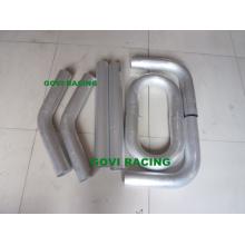 Tubo de tubo pulido tubo de aluminio del coche de 8PCS / Set con longitud de 600m Longitud de coche 3''universal