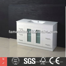 Free Standing Bathroom Vanity Gloss White Bathroom Vanity