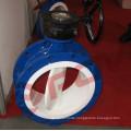 Calciumcarbonat Manuelle Turbine Sitzventil aus PTFE mit manueller Turbine