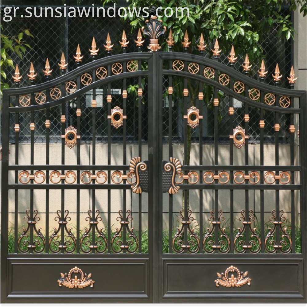 Fancy Gate Aluminum
