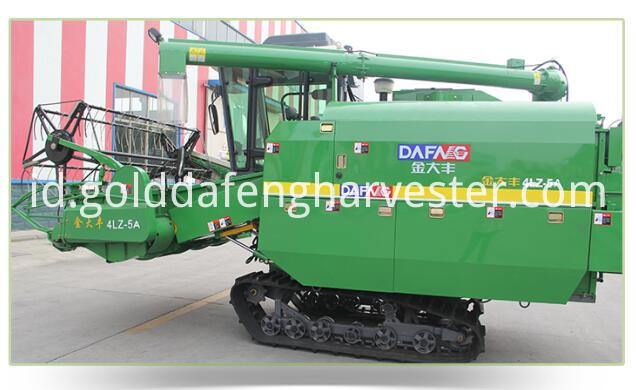 Self Propelled Full Feed Rice Combine Harvester Chasis