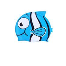 Bonnet de bain en caoutchouc pour enfants