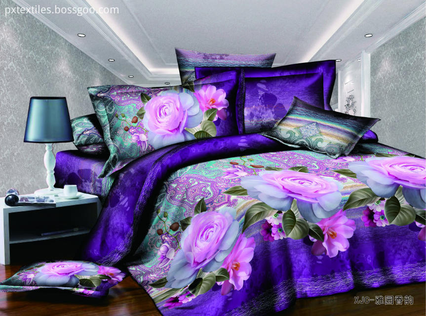 3D Painted Bedding Set