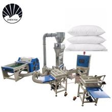 ZXJ-380-A Automatic microfiber soft goose down effect pillow stuffing machine pillow filling machine