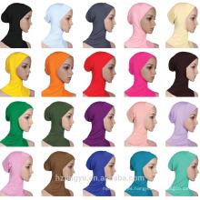 Sombrero musulmán Hijab y bufanda islámica Gorro modal mujeres estiramiento