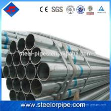2016 Tubo de acero galvanizado corrugado producto más vendido
