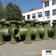 Fiberglass Pipe Fittings - Tee for Pipe Connection