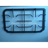 gas cooker burner parts, cast iron pan support, cooktops