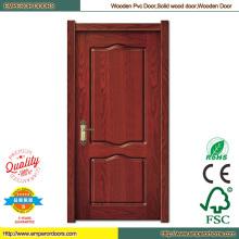 Hotel de diseño de puerta principal puerta puertas de madera baratas