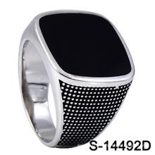 Modelo clássico 925 anel de prata esterlina com preço de fábrica