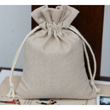 Muslin jute bag wedding favor bag