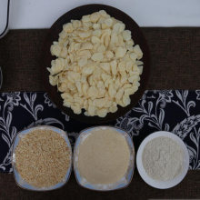 Dehydrated garlic flakes &other mesh products