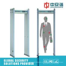 LCD Screen 50 Working Bands Intelligent Alarm Metal Detector Gate
