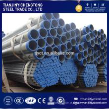 Material de construção ERW soldada tubo de aço de parede fina