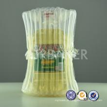 Material plástico e recurso ar válvula sacos infláveis Air Bags protetora embalagens recicláveis para leite em pó pode