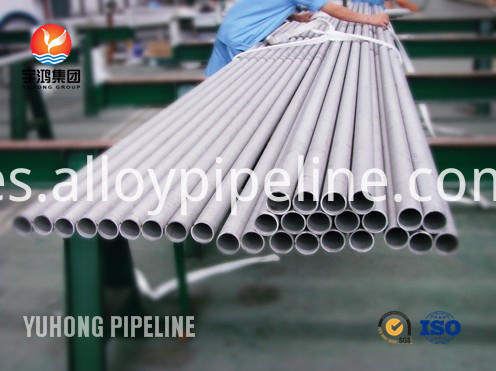Nickel Alloy Seamless Tube 625 ASME SB444 For Heat Exchanger