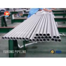 Inconel trocador de calor tubo ASME SB444 UNS N06625