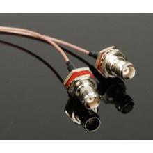 Conector hembra BNC con conjunto de cables Rg316