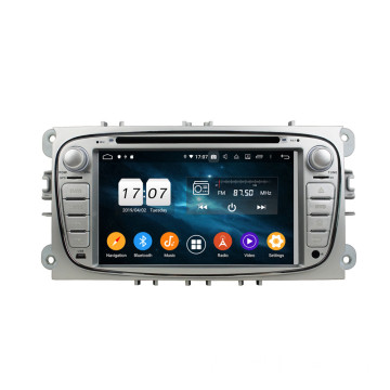 Klyde Autoradio Android 9.0 pour Focus Mondeo S-max