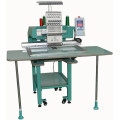 """7"""" Touch Screen Professional T shirt / Cap Single Head Embroidery Machine 12 needle"""