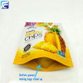 Aluminum ziplock plastic potato chips stand up pouch