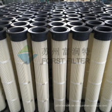 FORST Industrial High Quality Pleated Patrone PU Filter für Staubabscheider