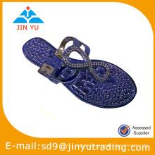 Zapatos de la jalea del pvc de la manera 2014
