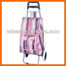 Rolling trolley foldable shopping cart