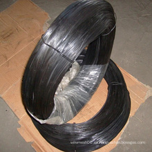 Alambre de hierro recocido negro o alambre suave de amarre negro