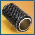 Welded spiral serrated finned tube