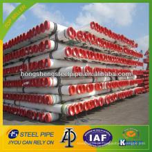 API 5L X52 tubo de aço sem costura de aço carbono