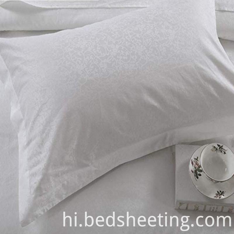 White Cotton Jacquard Pillowcases