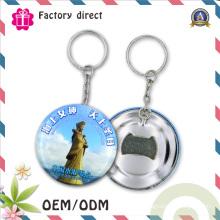 50-миллиметровый Сувенир для Круглой Формы Путешествующий Брелок Открывалка