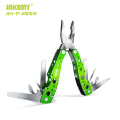 JAKEMY Safe Outdoor camping knife survival multi tool multi-functional aluminum fishing pliers hand tool