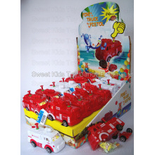 Fire Truck Water Gun Toy Candy (101011)