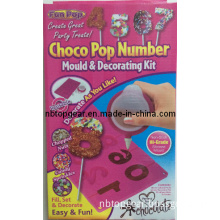Choco Pop Number Mould & Decorating Kit
