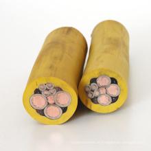cabo de mineração de borracha flexível para cortadores de carvão