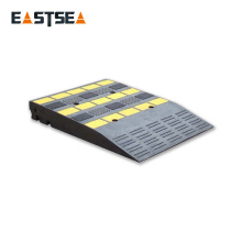 Rampe de porte portative noire de sécurité du trafic de largeur du caoutchouc 500MM