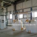 20t / D Planta de refinería de aceite de semilla de algodón Refinería de petróleo crudo