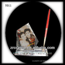 Bunter Druck Foto Kristall Y011