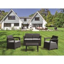 Garden  PP Plastic  Assemble Sectional Sofa