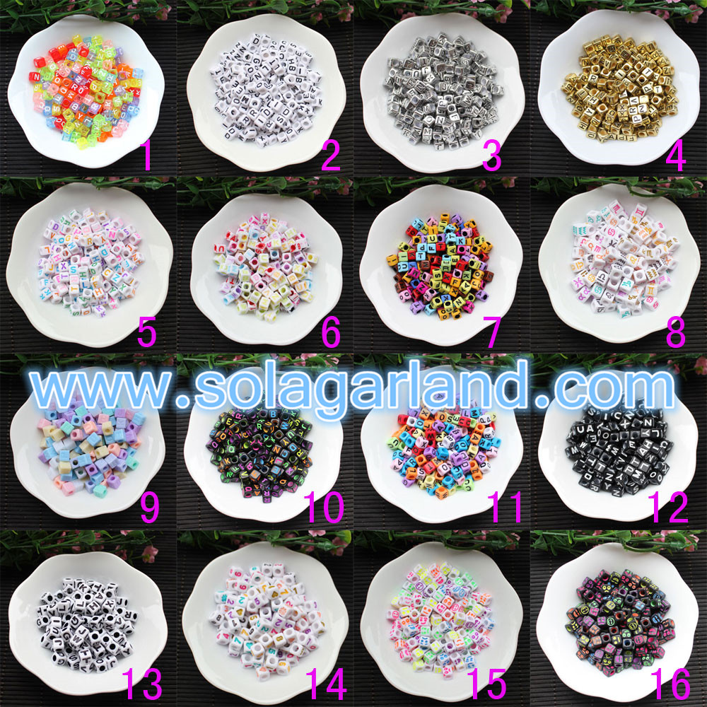 Letter Beads For Jewelry Making
