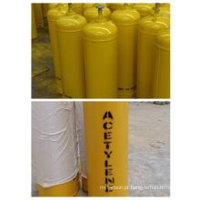 Cilindro de gás de acetileno de alta pressão