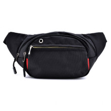 Trendy Svart Ourdoor Travel Small Waist Bag