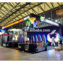 Detian Display offer exhibition display for led lighting show, aluminum stand display