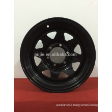 8 holes steel wheel rim