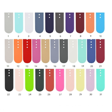 2020 new Soft Sport Silicone smart Watch Straps for smart Watch 38mm 40mm 42mm 44mm watch bands