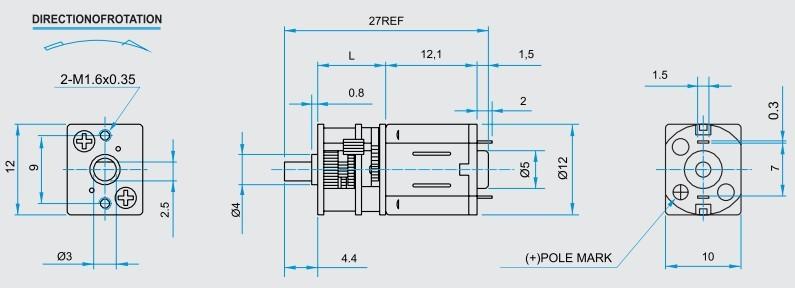 N10 Gear Motor
