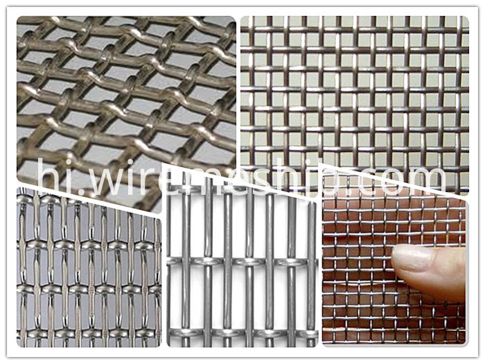 Crimped wire mining screen